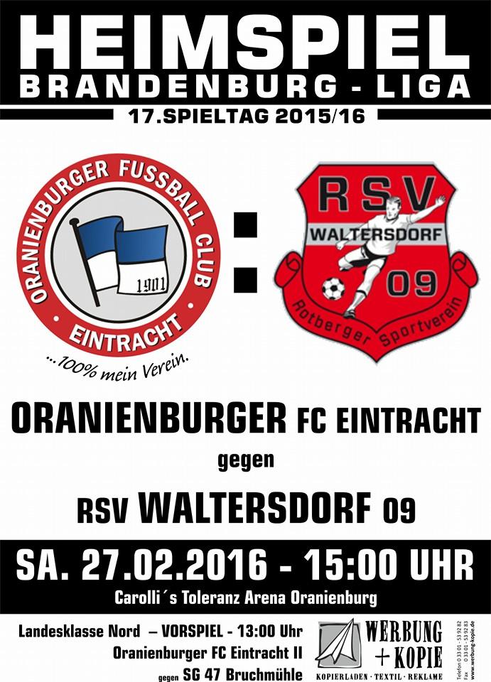 Brandenburgliga Spieltag 17