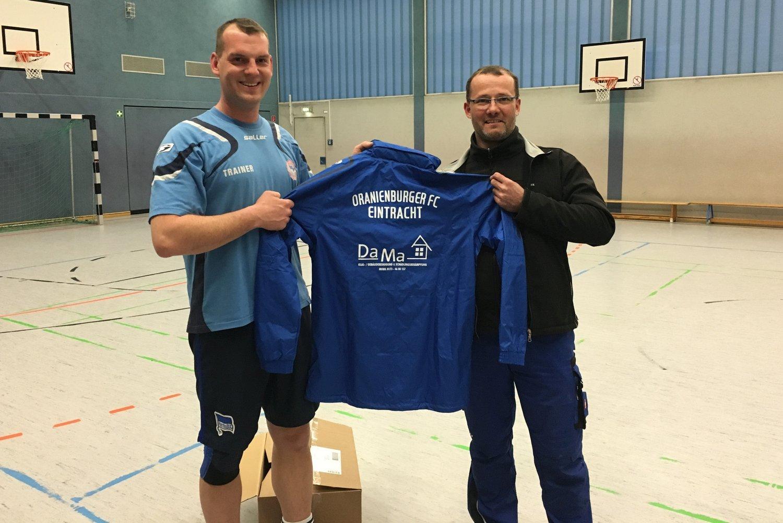 Christian Richter und Geschäftsführer Daniel Marx von der Firma DaMa-Service aus Velten