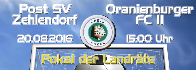 Kreispokal : Post Zehlendorf - OFC II