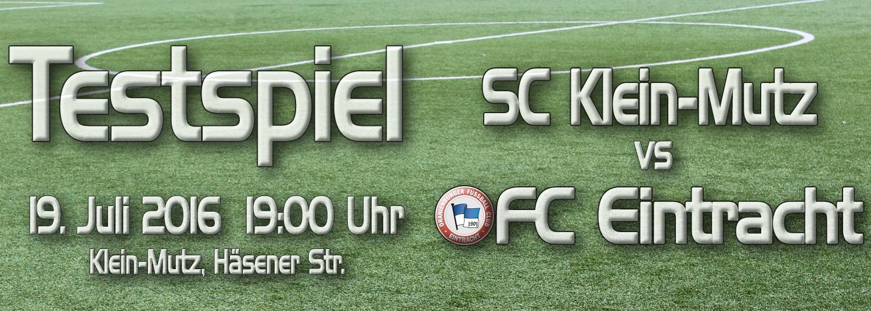 Testspiel SC-Mutz - OFC