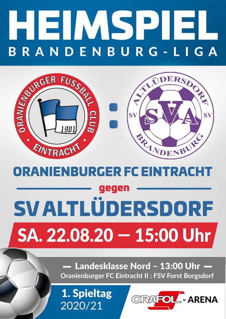 OFC - SV Altüdersdorf & OFC II - FSV forst Borgsdorf